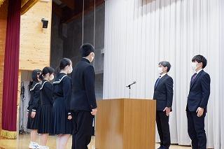 4月9日(金) 任命式