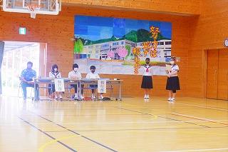 5月28日(金) 生徒総会